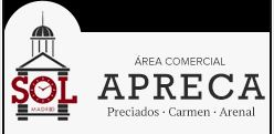 logotipo de APRECA - Asociación de Vecinos, Comerciantes e Industria de Calle Preciados, Carmen y Adyacentes