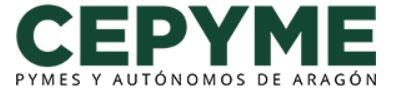 logotipo de CEPYME - Confederación de la Pequeña y Mediana Empresa Aragonesa