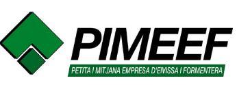logotipo de PIMEEF - Asociación de Pequeña y Mediana Empresa de Ibiza y Formentera
