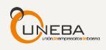 logotipo de UNEBA - Asociación de Comerciantes de Baena