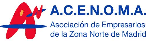 logotipo de ACENOMA - Asociación Empresarios Zona Norte de Madrid