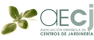 logotipo de AECJ - Asociación Española de Centros de Jardinería