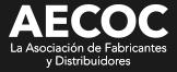 logotipo de AECOC - Asociación de Fabricantes y Distribuidores