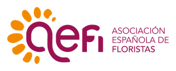 logotipo de AEFI - Asociación Española de Floristas Interflora