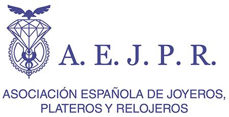logotipo de AEJPR - Asociación Española de Joyeros, Plateros y Relojeros