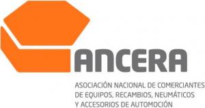 logotipo de ANCERA - Asociación Nacional de Comerciantes de Equipos, Recambios, Neumáticos y Accesorios para Automoción