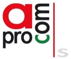 logotipo de APROCOM - Confederación Provincial de Comercio, Servicios y Atónomos de Sevilla