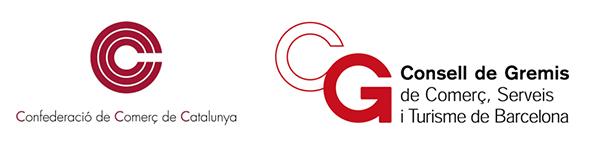 logotipo de CCCataluña - Confederació de Comerç de Catalunya