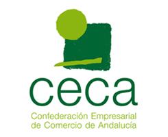 logotipo de CECA - Confederación Empresarial de Comercio de Andalucía