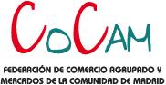 logotipo de COCAM - Federación de Comercio Agrupado y Mercados de la Comunidad de Madrid
