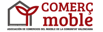 logotipo de COMERÇMOBLE - Asociación de Comercios del Mueble de la Comunidad Valenciana