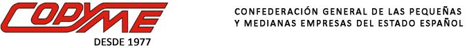 logotipo de COPYME - Confederación Nacional de Pequeñas y Medianas Empresas