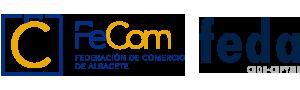 logotipo de FEDA - Federación de Comercio de Albacete