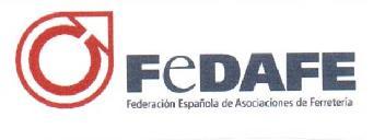 logotipo de FEDAFE - Federación Española de Asociaciones de Ferretería