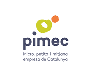 logotipo de PIMEC - Pequeña y Mediana Empresa de Cataluña